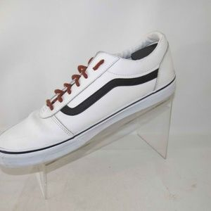 Vans 500714 Size 13 White Sneakers Mens L1A28